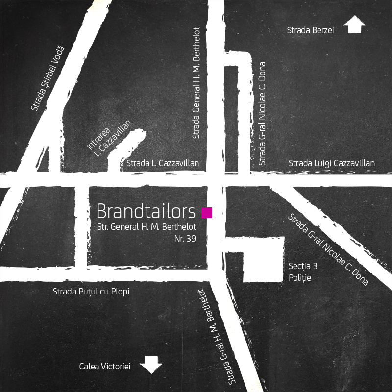 Brandtailors Location Map